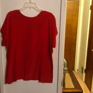 Women preowned Top Size 16& New NWOT Pants Size 2X